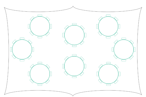 2030 Capri Marquee Table Plan